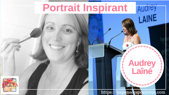 Portrait – Audrey Laîné, entrepreneure,  créatrice d'emploi à domicile.